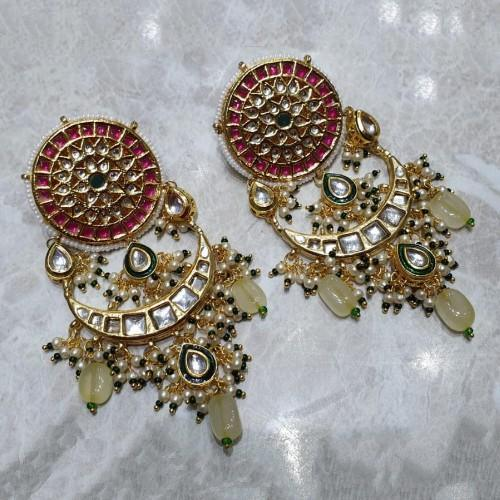 Big Stud Chandbali Earrings