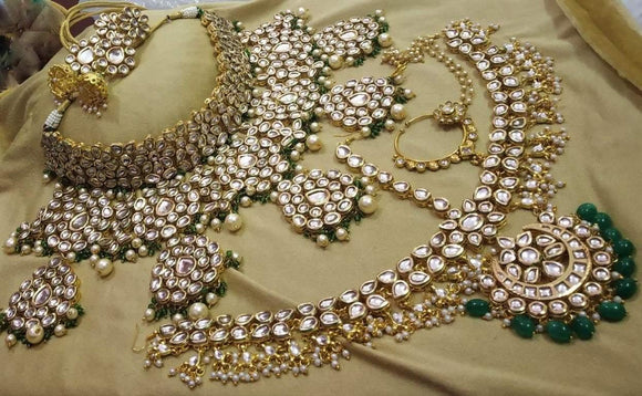 Bridal Set with 5 Pendant - Ishhaara