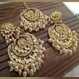 ChandBali Mangteeka and Earring Combo - Ishhaara