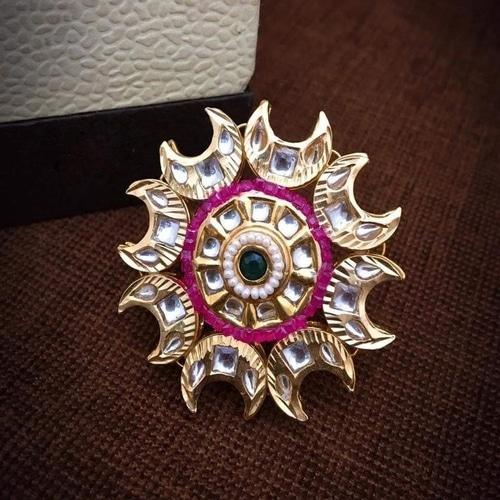 Chand Kundan Ring - Ishhaara