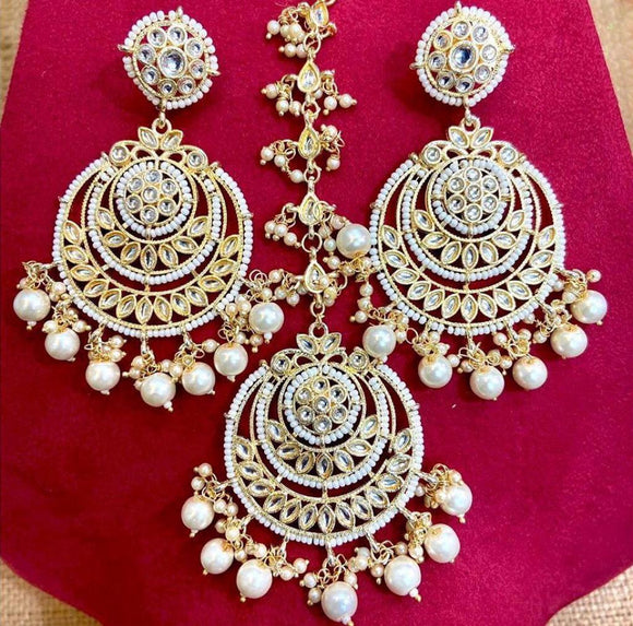 Chandbali and Teeka Set 2