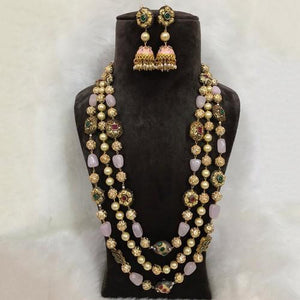 Colored Victorian Set with Jumki
