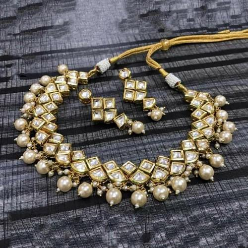 Diamond Cut Kundan Set