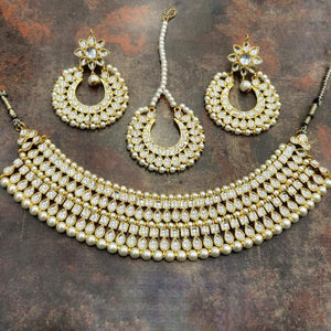 Double Layered Choker Necklace - Ishhaara