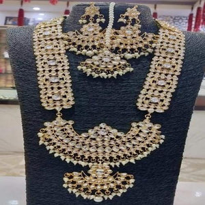 Full Kundan Long Rani Necklace