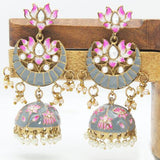 Hand Painted Chand Jumki - Ishhaara