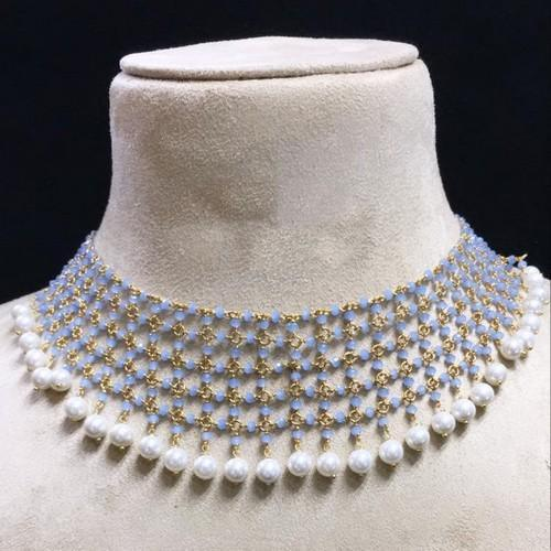 Jadtar Blue Necklace