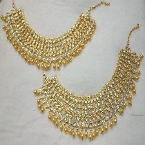 Kundan Multi Layered Payal - Ishhaara