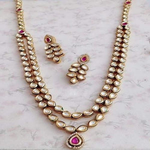 Kundan Ruby Pendant Necklace