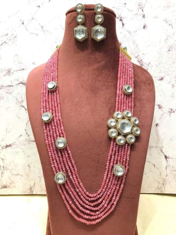 Kundan Patched Necklace - Ishhaara