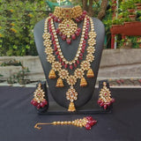 Layered Jumki Choker Bridal Set