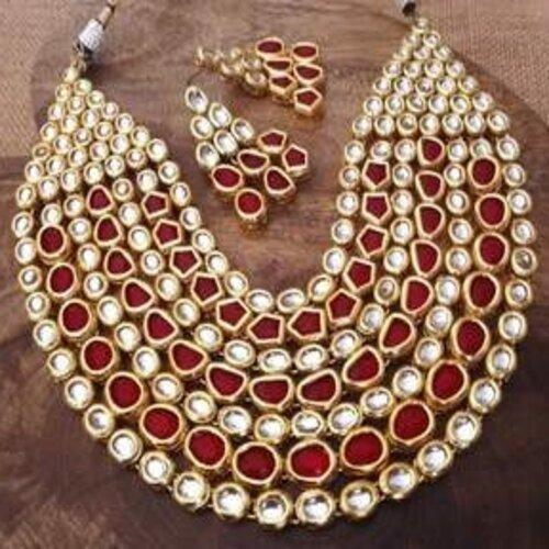 Layered Ruby Necklace
