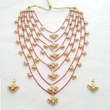 Layered Small Kundan Motif Necklace