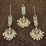 Mang Teeka And Earring Set - Ishhaara