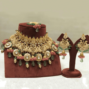 Meena Choker Bridal Design Necklace Set