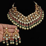 Meena Kundan Multi Layered Choker