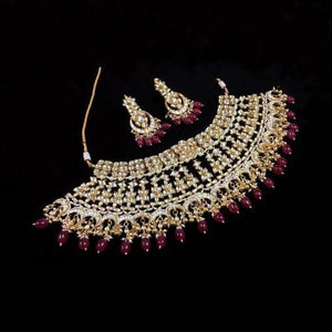 Multi Chand Bridal Necklace Set