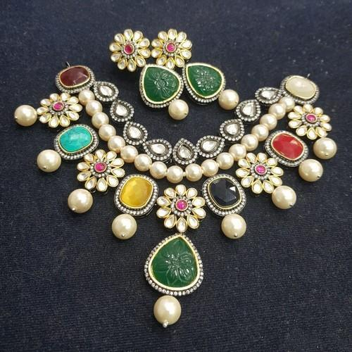 Multi Colored Victorian Pearl Set