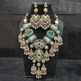 Multi Layered Meena Stone Abstract Set