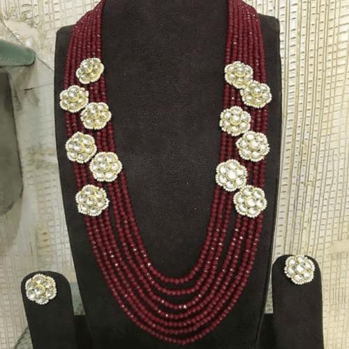 Patchi Kundan Close Patches necklace - Ishhaara