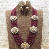 Patchi Kundan Chakra Long Necklace - Ishhaara