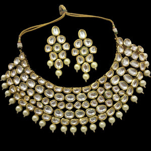 Plain Kundan Broad Set