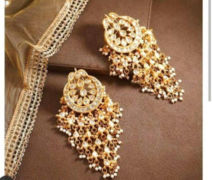 Shower Chandbali Earring - Ishhaara