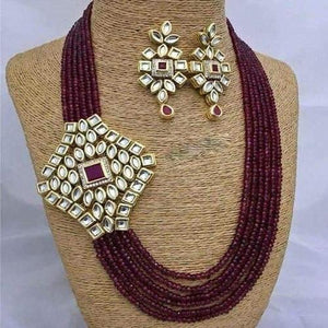 Side Diamond Kundan Patch