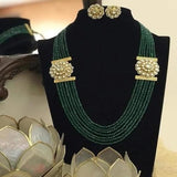Side Patch Necklace - Ishhaara