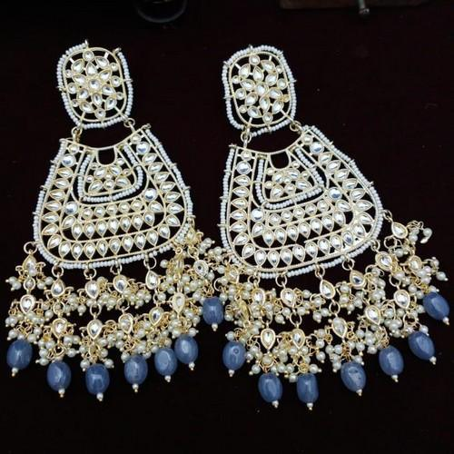 Triangular Chandbali Earrings