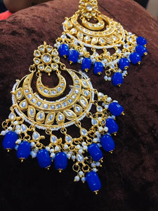 Two Layer Chandbali Earring - Ishhaara