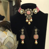 Victoria Patchi Baraque Necklace Set
