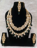 Kundan Double Layered Set