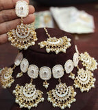 Five Chandbali necklace - Ishhaara