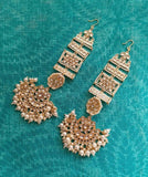 Rajwadi Earring with Holder - Ishhaara