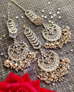 Mang Teeka And Earring Set