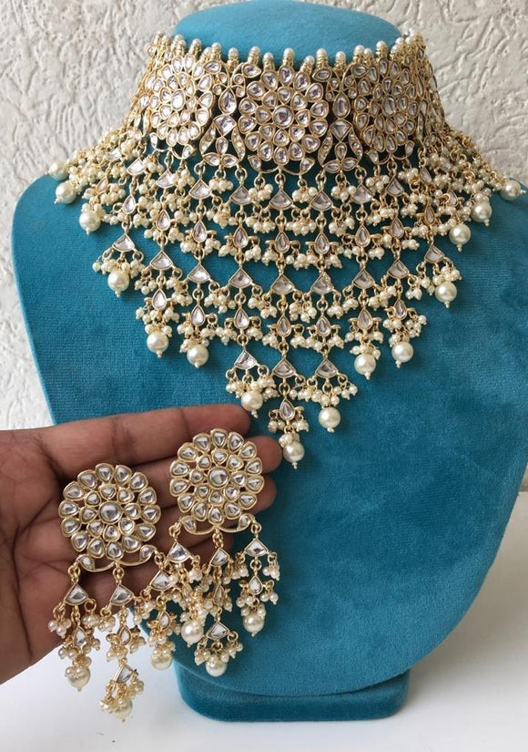 Designer Kundan Choker Necklace