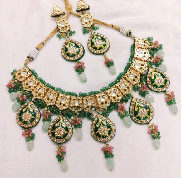 Meenakari Rani Necklace - Ishhaara