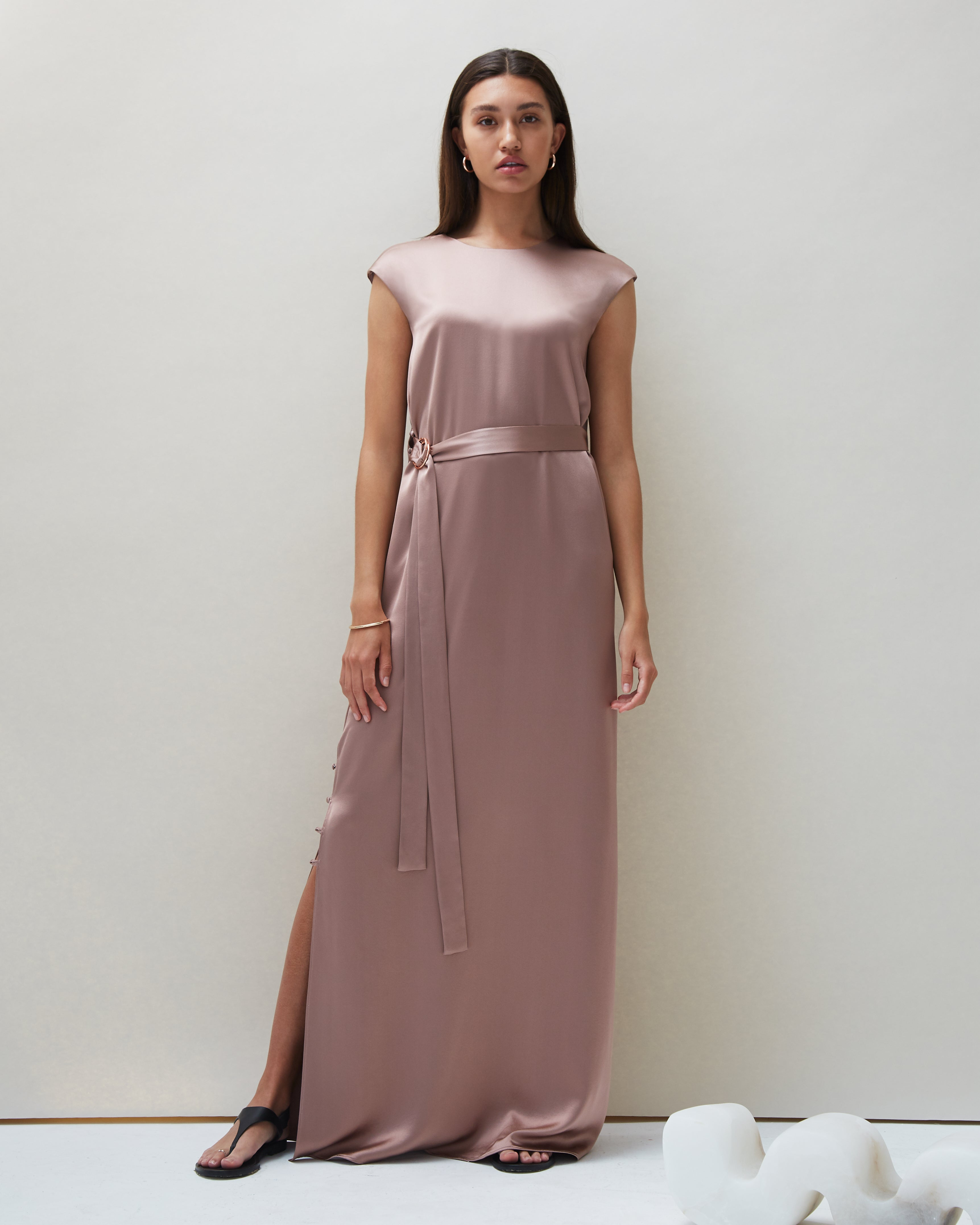 Pia Dress in Blush - COYAN