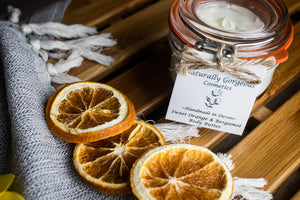 Sweet orange and bergamot body butter