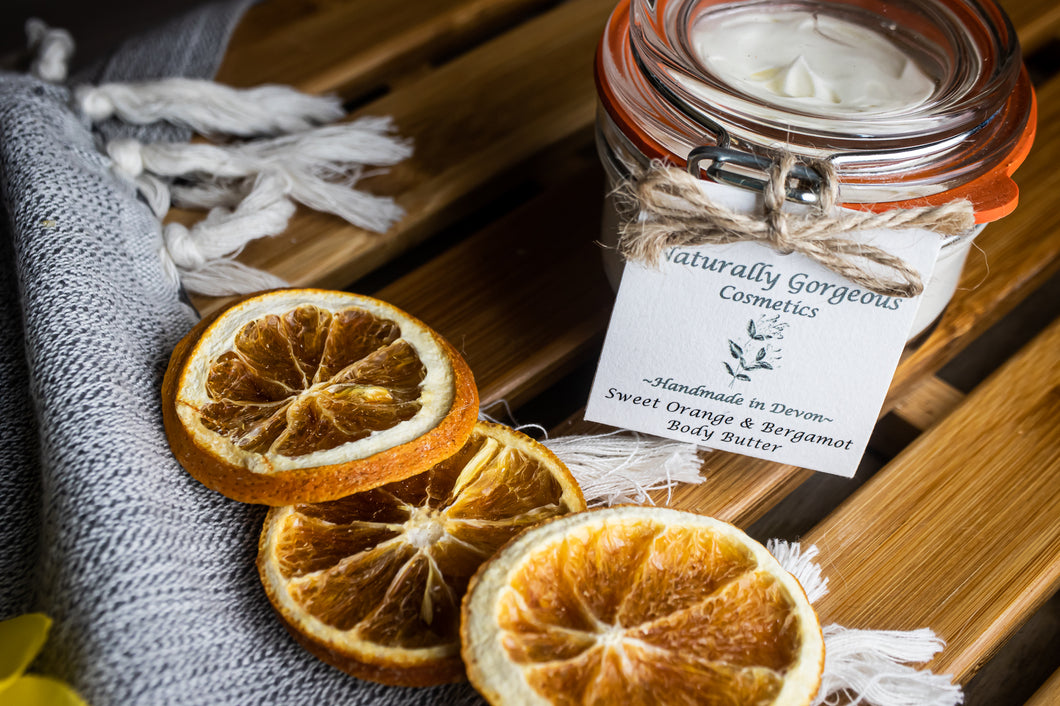 Sweet orange and bergamot body butter 70g