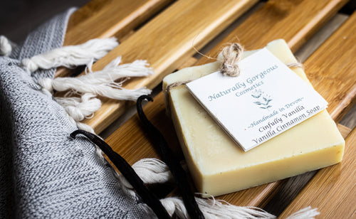 Cinfully Vanilla, Vanilla and Cinnamon Soap