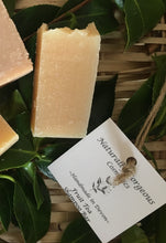 Load image into Gallery viewer, Fruit tea solid shampoo bar, with lemongrass, grapefruit and teatree essential oils 40g small bar