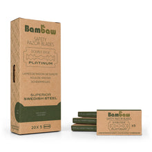 Load image into Gallery viewer, Bambaw safety razor blades