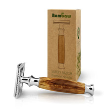 Load image into Gallery viewer, Bambaw Bamboo safety razor