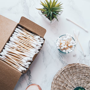 Bambaw bamboo cotton buds box
