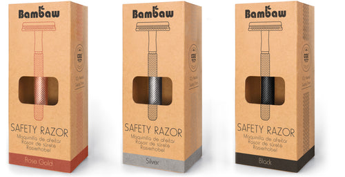 Bambaw metal safety razor