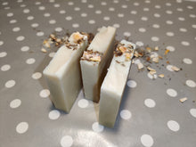 Load image into Gallery viewer, Sweet orange, lavender and neroli hand made soap bar 100g