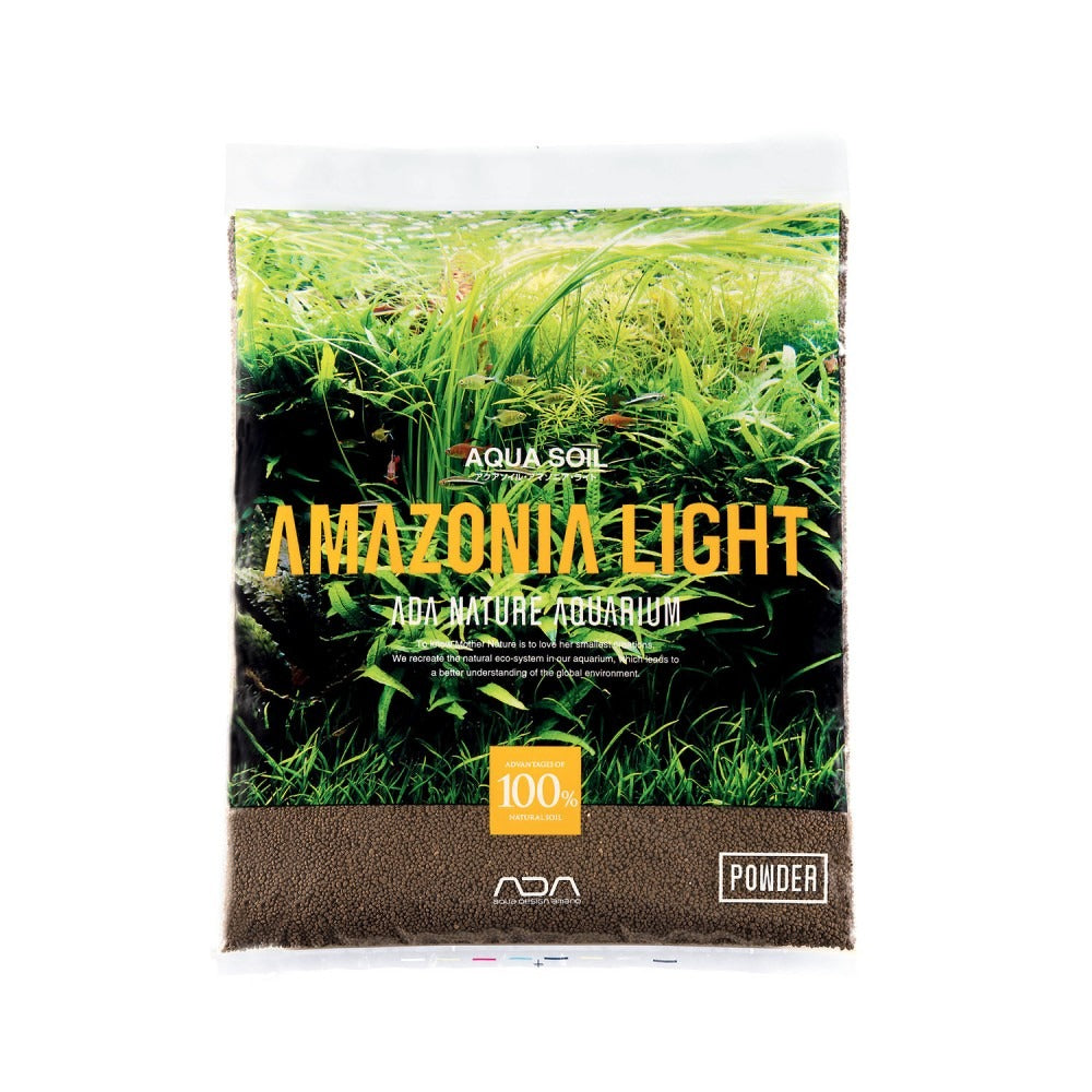 ADA Aqua Soil Powder Amazonia Light - 3l
