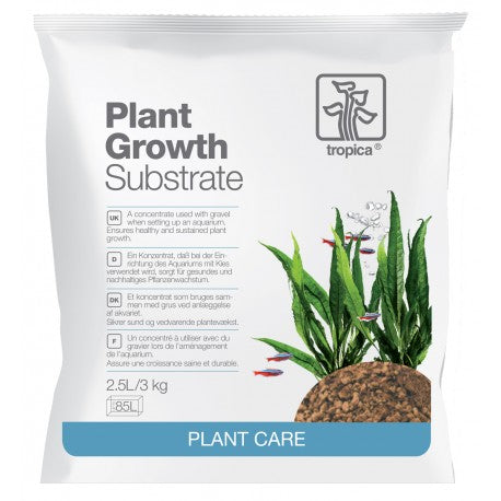 Substrat fertil Tropica Plant Growth Substrate 2.5 l